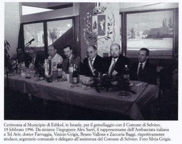 Gemellaggio Selvino-Zeelim 19-02-1996