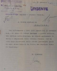 1947-01-19 richiesta elenco bambini Colonia Ebraica e loro visto di ingresso