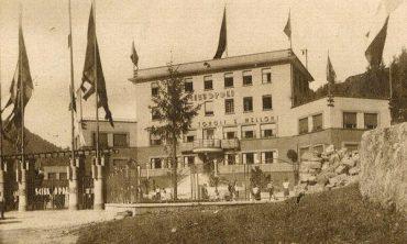 Inaugurazione di Scieopoli, 1933