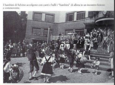 I Bambini di Selvino tornano a Sciesopoli 1983
