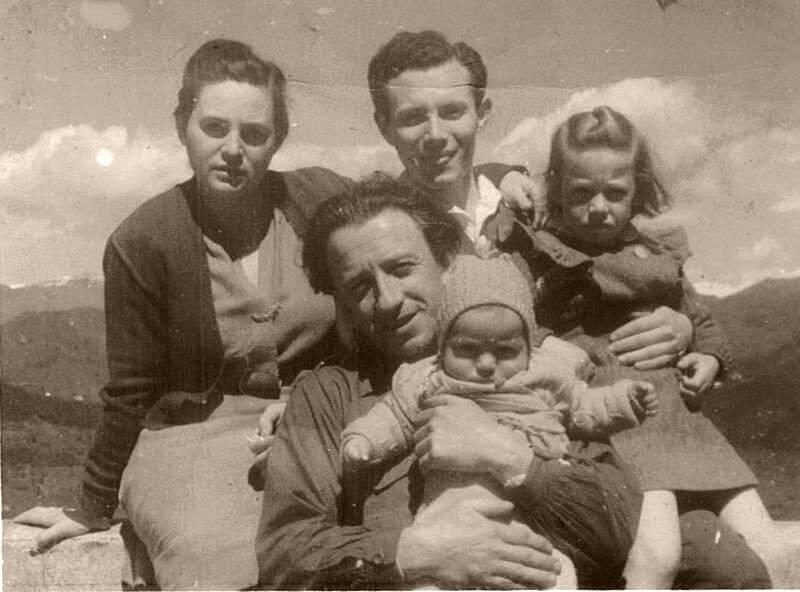Moshe Zeiri e famiglia con Gary Bertini
