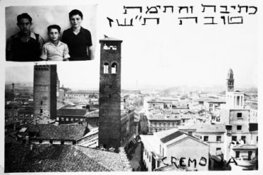 Sidney Zoltak a Cremona per il capodanno ebraico del 1-09-1947