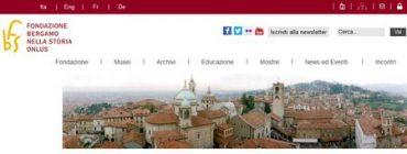 Fondazione Bergamo nella Storia