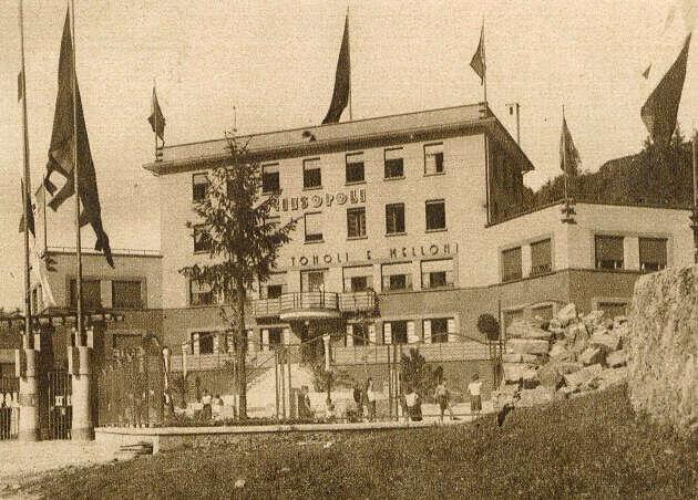 Colonia fascista di Sciesopoli di Selvino inaugurata 11 giugno1933