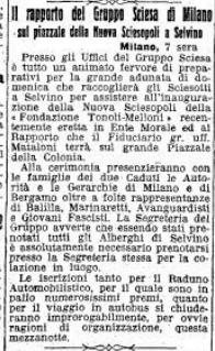Sciesopoli 1933-06-08 da Il Regime Fascista di Cremona