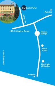 Sciesopoli itinerario