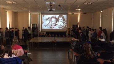 2019 alle scuole di Bosisio Parini nel Giorno della Memoria